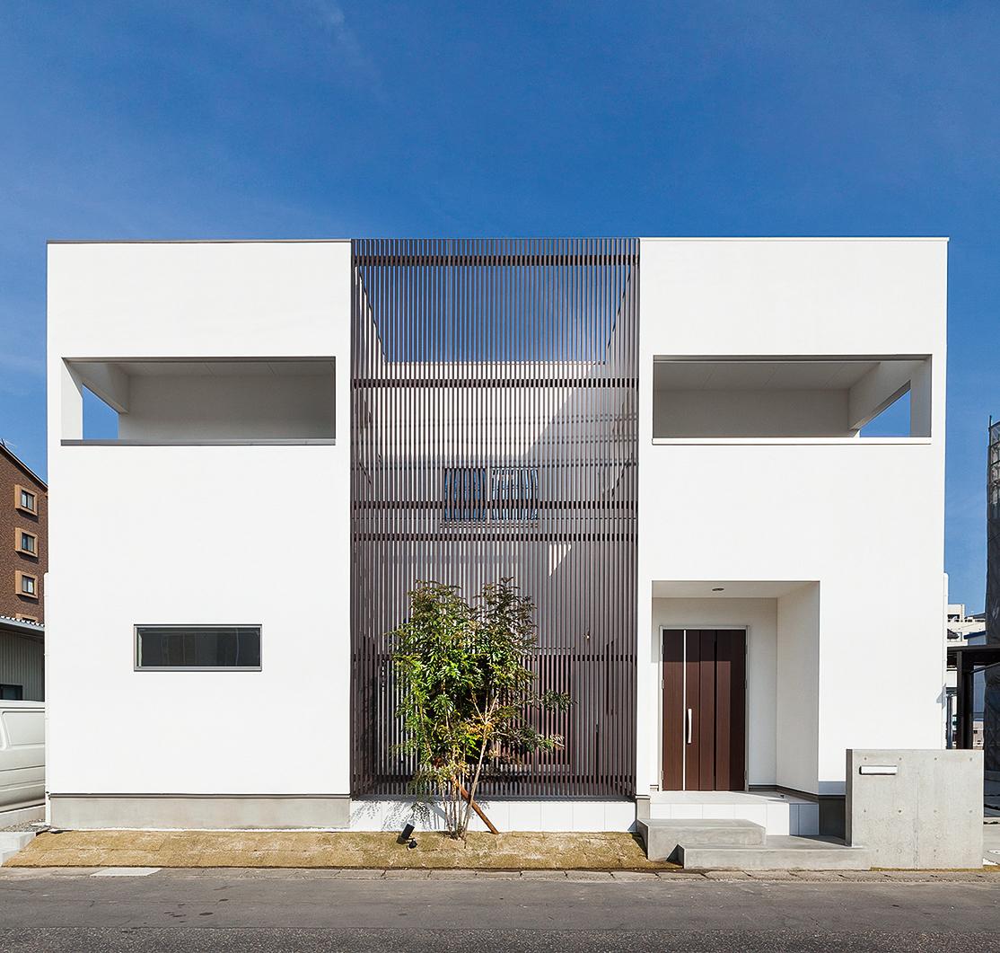 塗り壁の家「ブランコ」